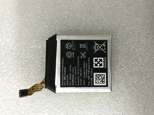 Batterie interne GB-S10-353235-0100