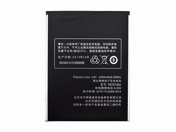 Batterie TBT9738A