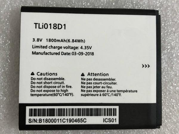 Batterie interne smartphone TLI018D1