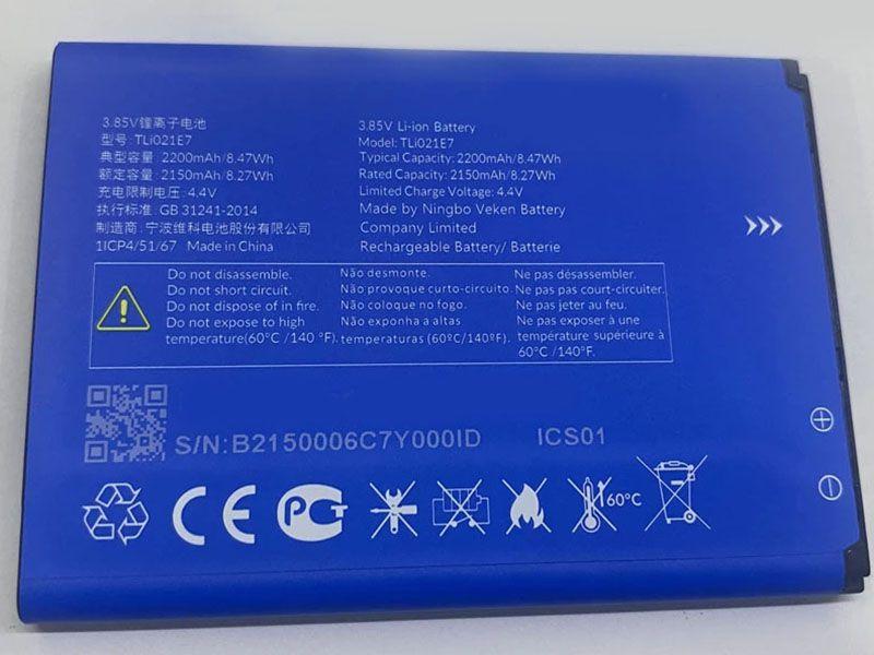 Batterie interne smartphone TLI021E7
