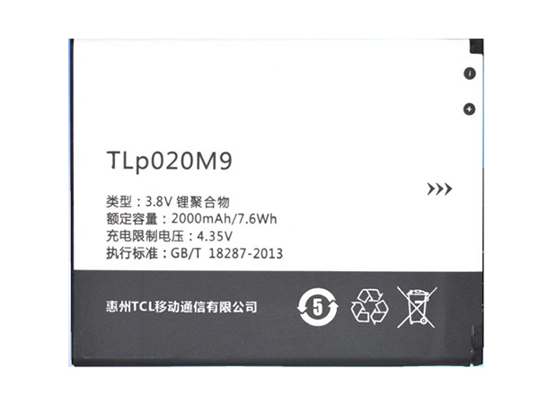 Batterie interne smartphone TLP020M9