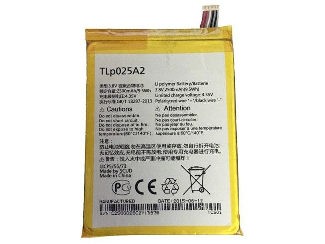 Batterie interne smartphone TLp025A2