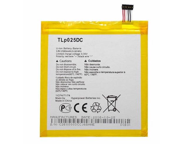 Batterie interne smartphone TLP025DC
