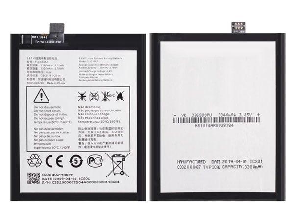 Batterie interne smartphone TLP033A7