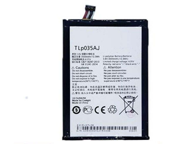 Batterie interne smartphone TLP035Aj
