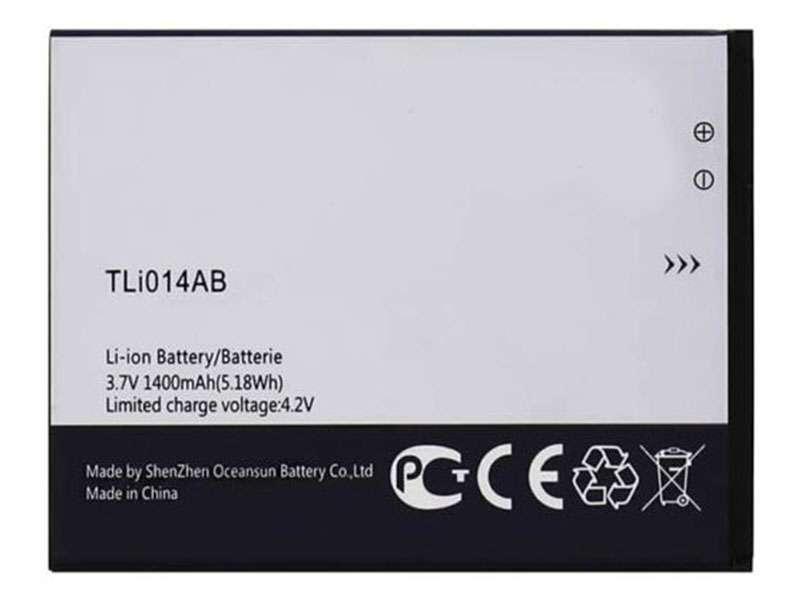 Batterie interne smartphone TLi014AB