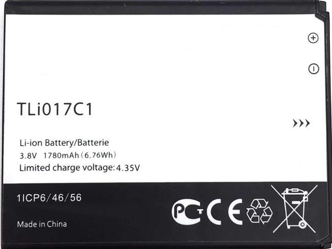 Batterie interne smartphone TLi017C1