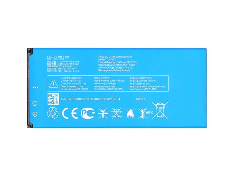 Batterie interne smartphone TLi028C7