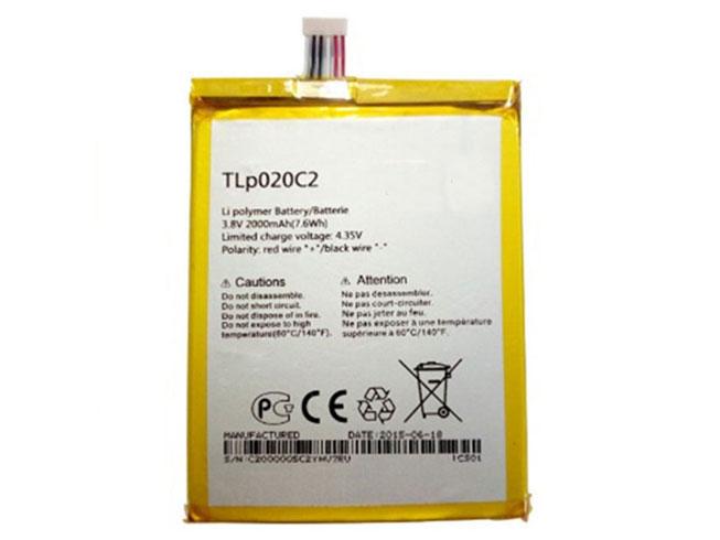 Batterie interne smartphone TLp020C2