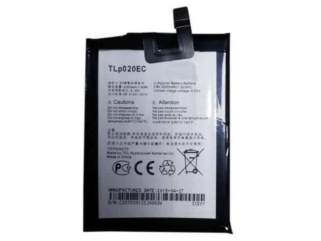 Batterie interne smartphone TLp020EC
