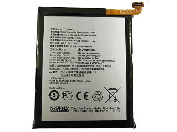 Batterie interne smartphone TLP024C1