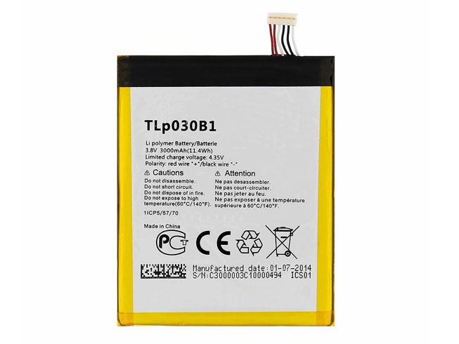 Batterie interne smartphone TLp030B1