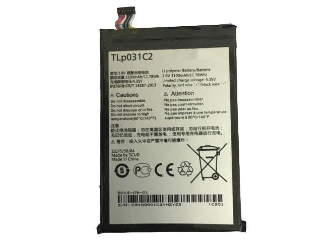 Batterie interne smartphone TLp031C2