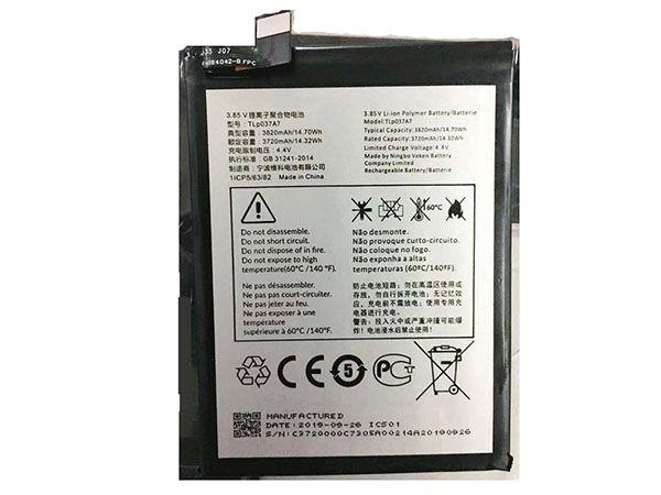 Batterie interne smartphone TLp037A7