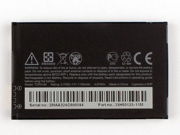 Batterie interne smartphone TOPA160