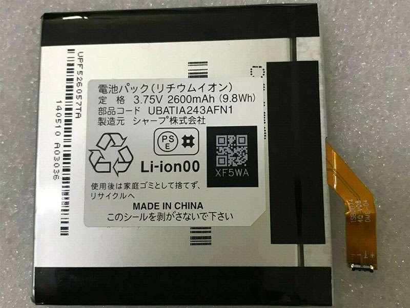 Batterie interne smartphone UBATIA243AFN1