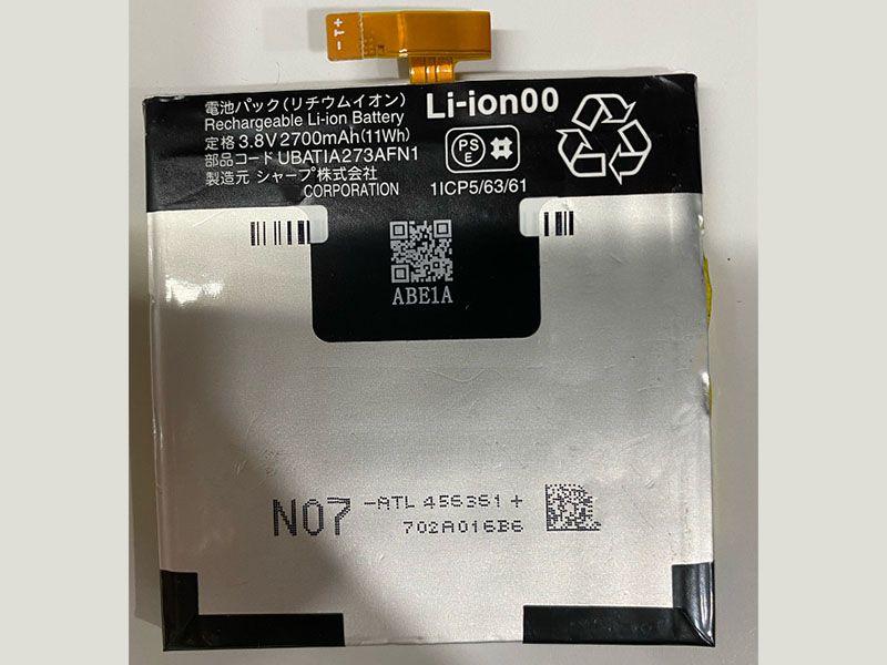 Batterie interne smartphone UBATIA273AFN1