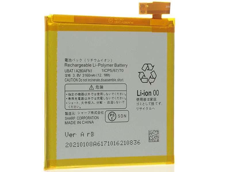 Batterie interne smartphone UBATIA280AFN1