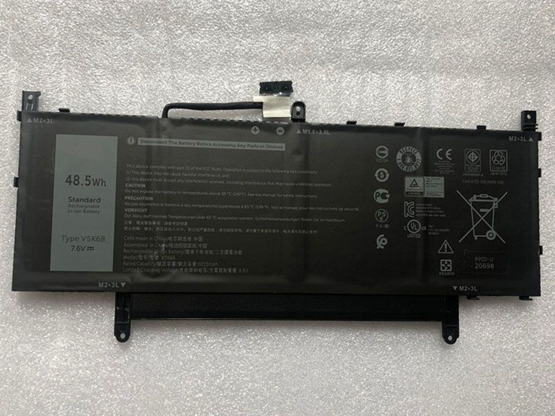 Batterie ordinateur portable V5K68