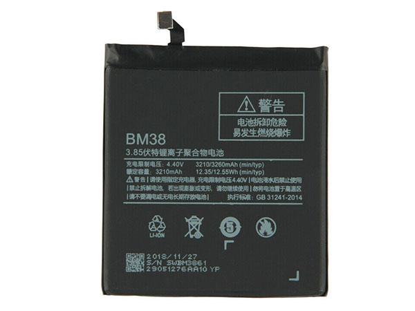 Batterie interne smartphone BM38