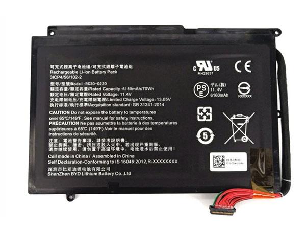 Batterie ordinateur portable RC30-0220
