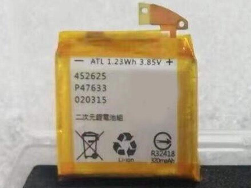 Batterie interne Zen_Watch_3