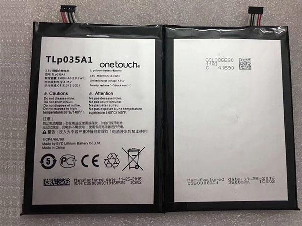 Batterie interne smartphone TLP035A1