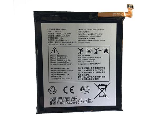 Batterie interne smartphone TLP025K1