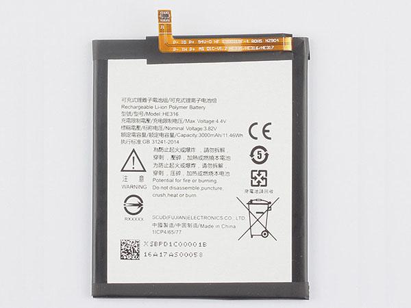Batterie interne smartphone HE316