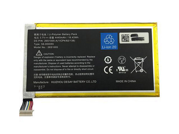 Batterie interne tablette 26S1005