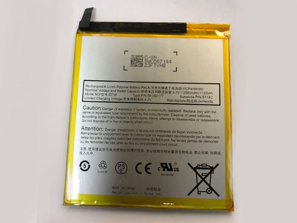 Batterie interne tablette ST18
