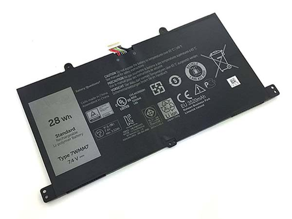 Batterie ordinateur portable 7WMM7