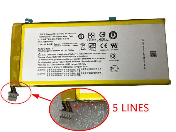 Batterie interne smartphone PR-3258C7G