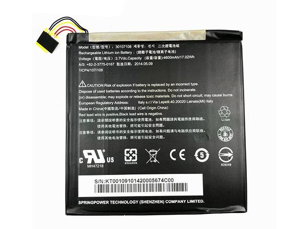 Batterie interne tablette 30107108