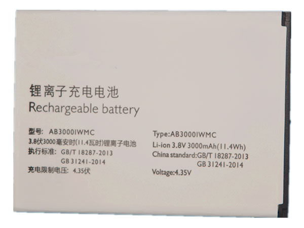 Batterie interne smartphone AB3000IWMC