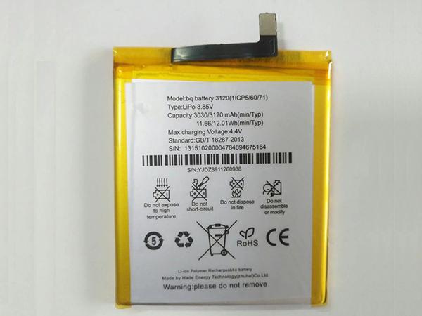Batterie interne smartphone 3120(1ICP5/60/71)