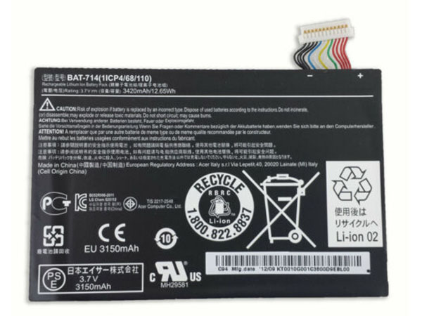 Batterie interne tablette BAT-714