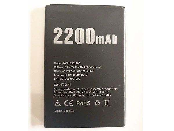 Batterie interne smartphone X53