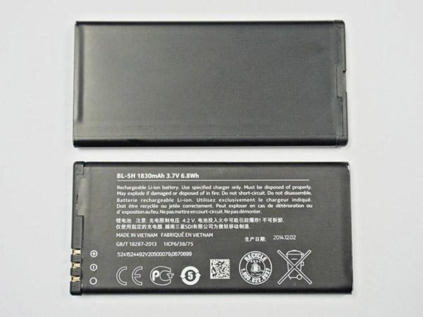 Batterie interne smartphone BL-5H