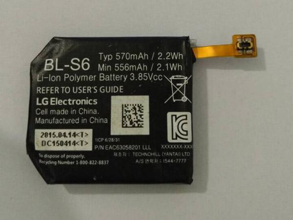 Batterie interne BL-S6
