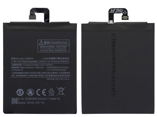 Batterie interne smartphone BM3A