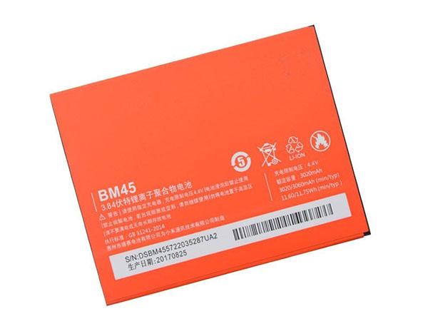 Batterie interne smartphone BM45