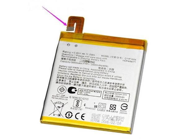 Batterie interne smartphone C11P1606