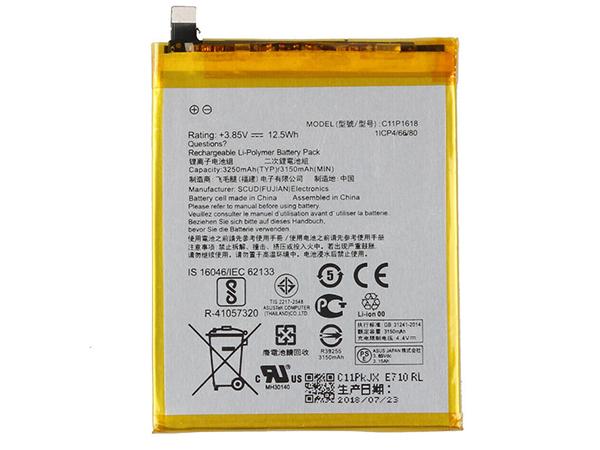 Batterie interne smartphone C11P1618