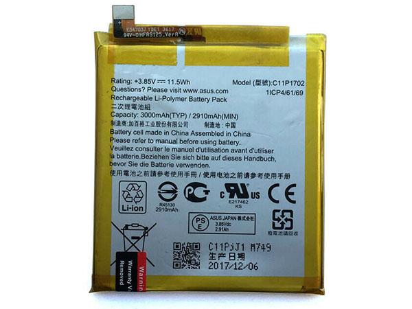 Batterie interne smartphone C11P1702