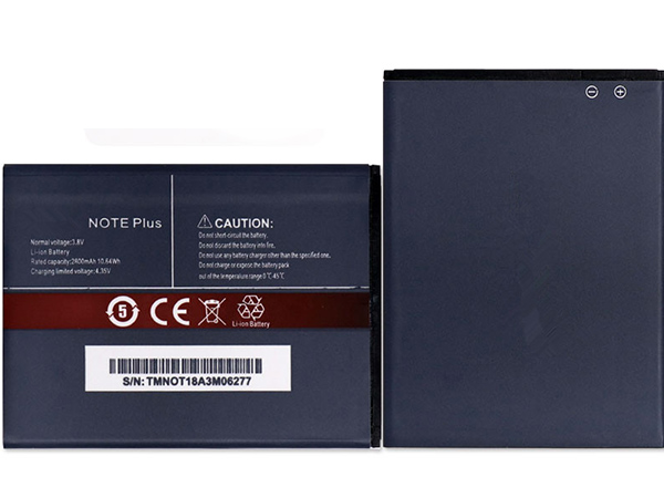 Batterie interne smartphone NOTE_Plus