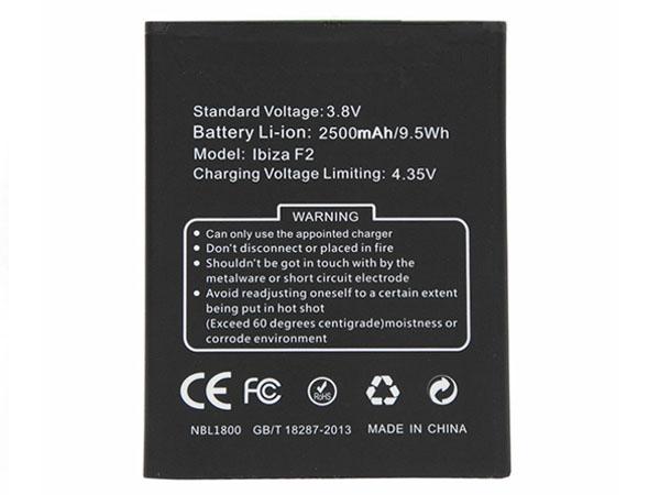 Batterie interne smartphone Ibiza_F2