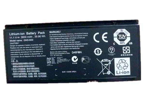 Batterie ordinateur portable GND-B30