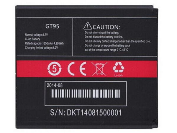 Batterie interne smartphone GT95