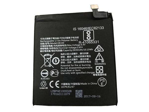 Batterie interne smartphone HE330